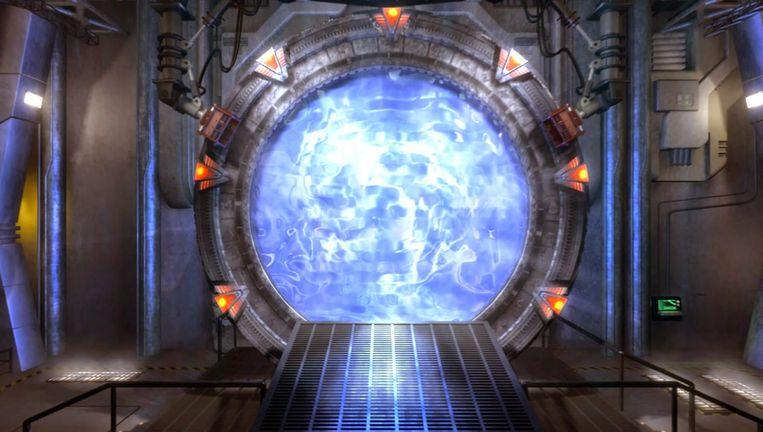 Een Stargate uit de gelijknamige sciencefictionserie.