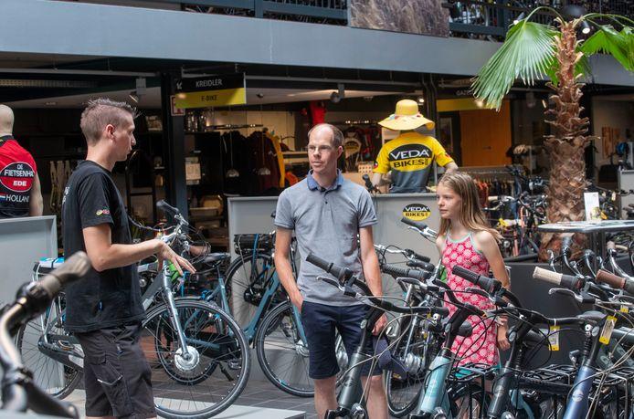 Ook Veda Bikes verkoopt meer fietsen tijdens de coronacrisis.