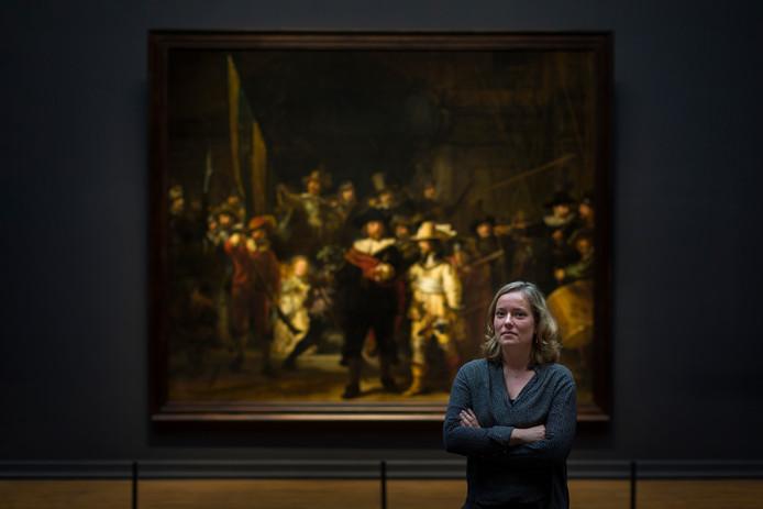 Susan Smelt is projectleider van de De Nachtwacht -restauratie.