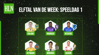 Ons verrassend elftal van de week: scorende verdedigers, opvallende keeper en Dessers als vreemde eend in bijt