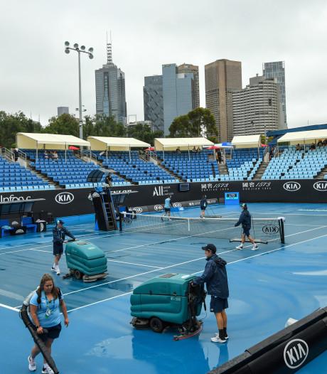 La pluie perturbe la première journée, les matchs de Van Uytvanck et Minnen reportés