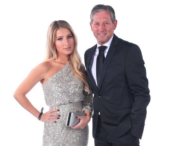 Frank De Bleeckere, woordvoerder van onze scheidsrechters, nam traditiegetrouw dochter Camille mee naar het Gala.