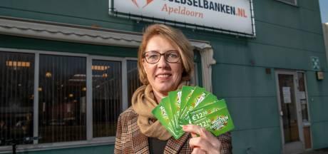 De vegakaart van Jacquelien laat de teller doorratelen bij de voedselbank in Apeldoorn: 'Een kleine actie die veel teweeg kan brengen'