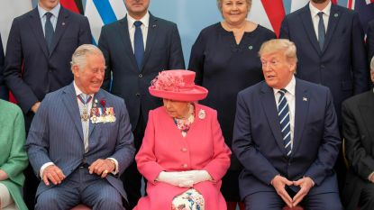 Oeps, foutje: Donald Trump noemt Charles 'prins der walvissen'