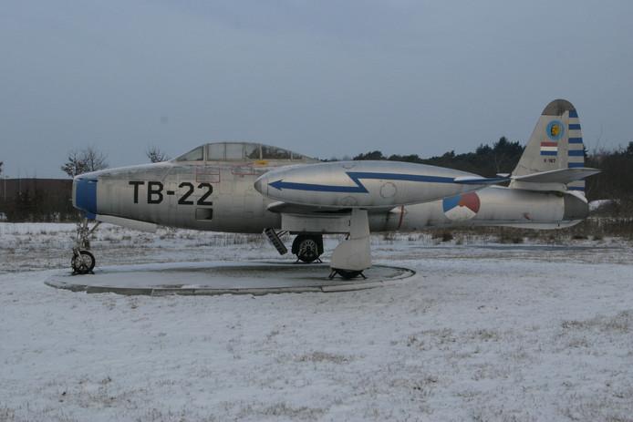 F-84 Thunderjet.