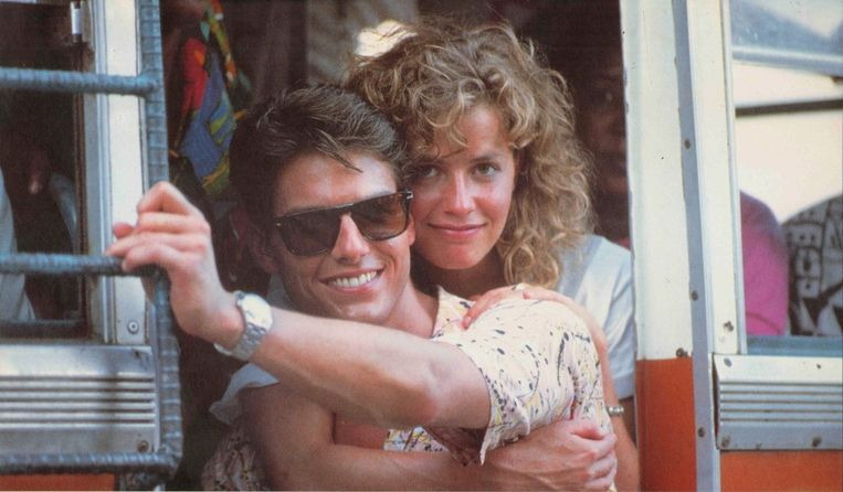 Tom Cruise en Elisabeth Shue in Cocktail van Roger Donaldson Beeld