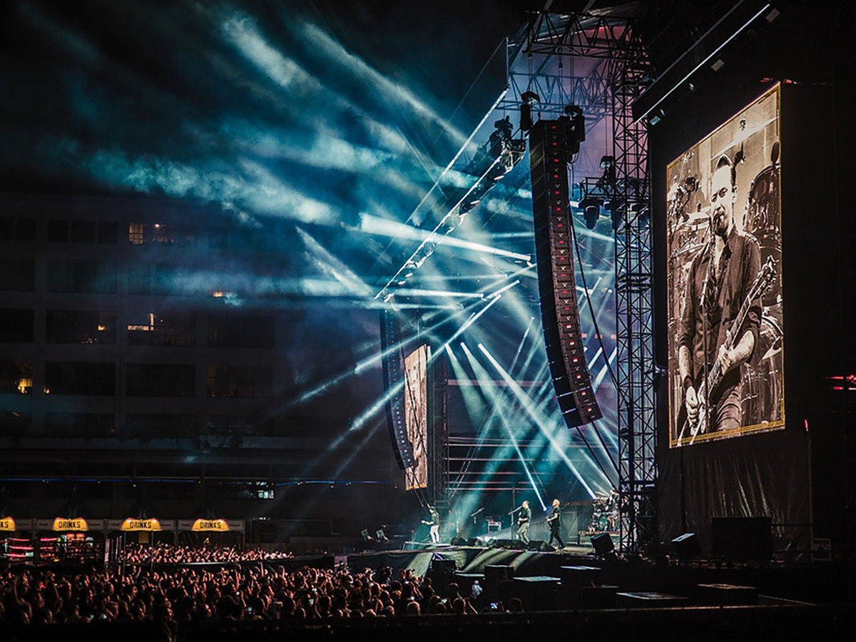 Concert van Volbeat op Strijp-S. Foto: Cas van der Voorn