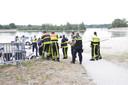 Hulpdiensten zoeken een vermiste man bij de Galderse Meren.