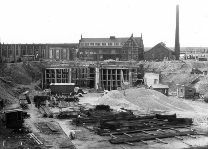 Al in in 1961 startte de bouw.