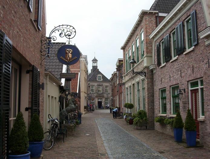 De Gasthuisstraat in Ootmarsum.