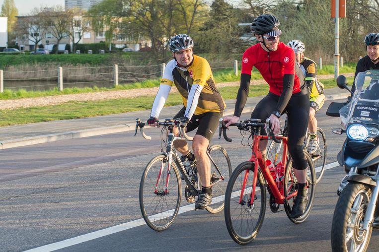 Koen Kennis en Ruben Van Gucht tijdens hun Ronde.