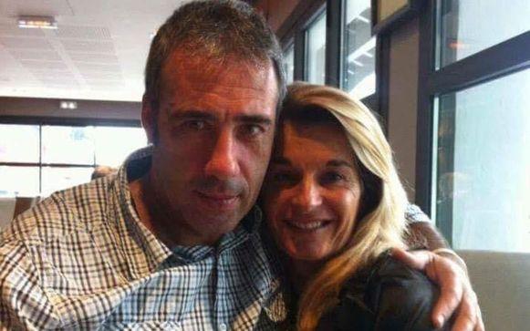 Philippe Monguillot en zijn echtgenote Véronique.