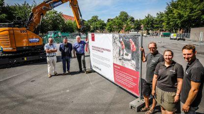"""Opgravingen starten onder Beursplein: """"Een spectaculaire vondst? Wie weet"""""""