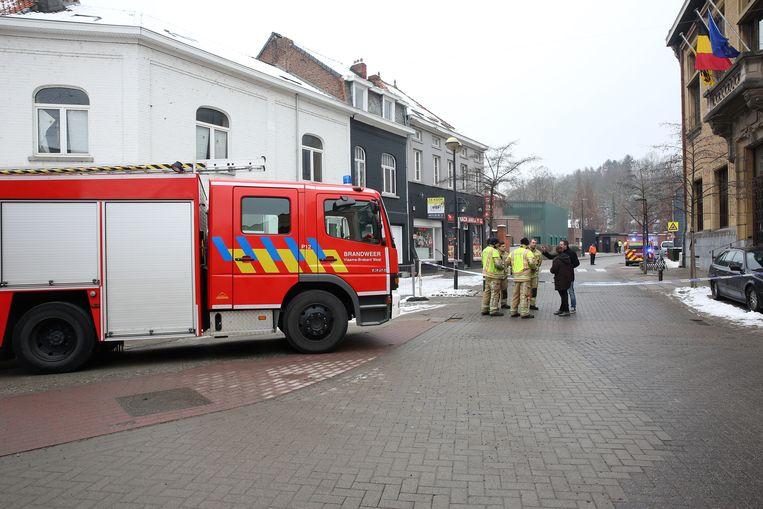 De brandweer kwam vorige week al ter plaatse om gasmetingen uit te voeren op de Onze-Lieve-Vrouwsite in Sint-Genesius-Rode.