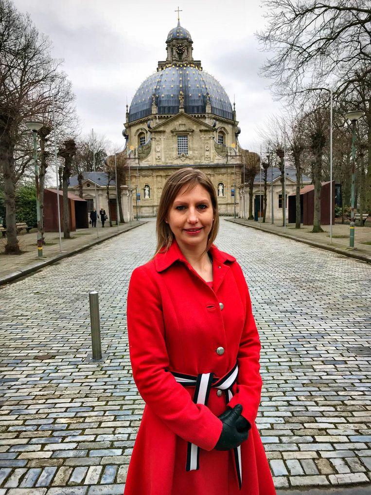 Fractieleider N-VA Allessia Claes.