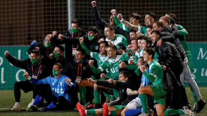 Koploper in La Liga wordt lachertje in Copa: afgang voor Atlético Madrid