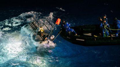 Onderzeeër maakt diepste duik ooit en vindt plastic zak op zeebodem