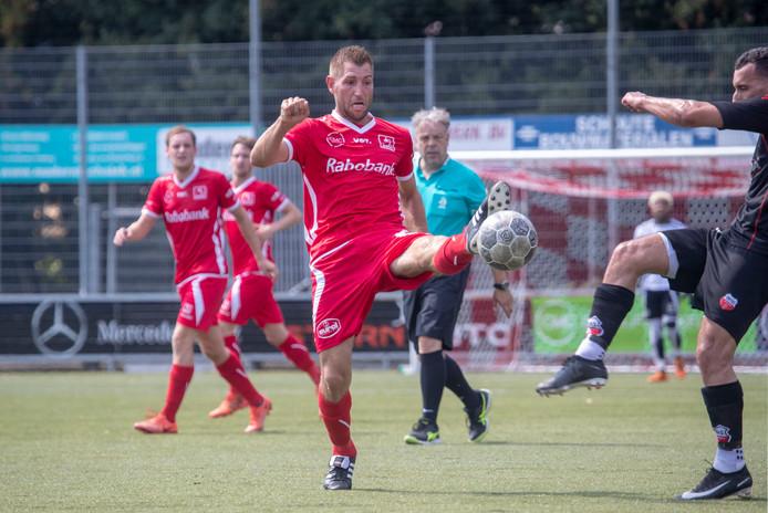 Erik van Eem aan het begin van dit seizoen in een oefenwedstrijd tussen DOVO en GVV Unitas.