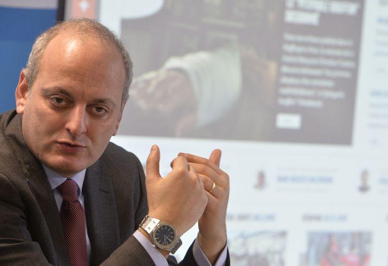 Joël Rubinfeld, voorzitter van de Belgische Liga tegen Antisemitisme.