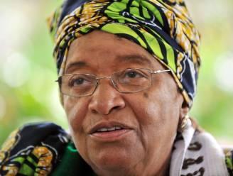 Rivaal laakt Nobelprijs voor Johnson-Sirleaf