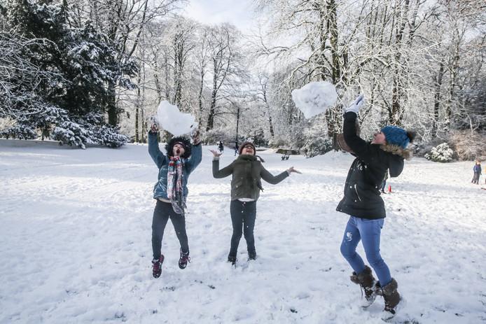 Mega-sneeuwballengevecht