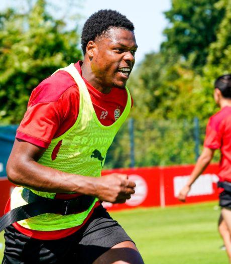 Denzel Dumfries na oefenzege PSV: nieuwe intenties waren soms te zien
