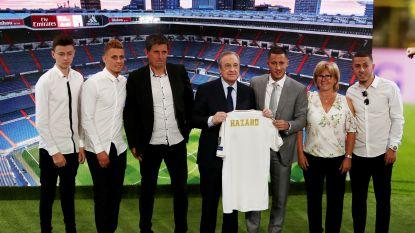 Hazard pakte Bernabéu in, maar voor familieman in Eden waren zijn kids nog dat tikkeltje belangrijker
