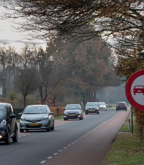 Ieder voertuig geteld op Edeseweg in Wekerom