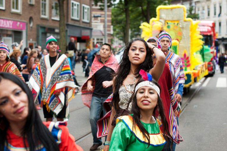 Het Zomer Carnaval in Rotterdam, juli 2011.  Beeld null