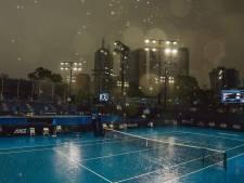 Australian Open heen en weer geslingerd tussen bosbranden en hevig noodweer