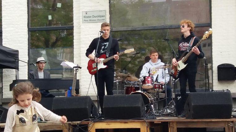 De winnende band 'Refands'.