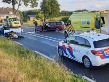 Twee gewonden bij frontale botsing op Gaanderenseweg in Doetinchem