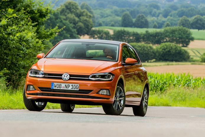 De nieuwe generatie van de Volkswagen Polo heeft een probleem met de gordels op de achterbank