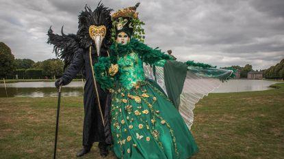 Venetiaanse kostuums komen naar Kasteel van Gaasbeek en Groenenberg