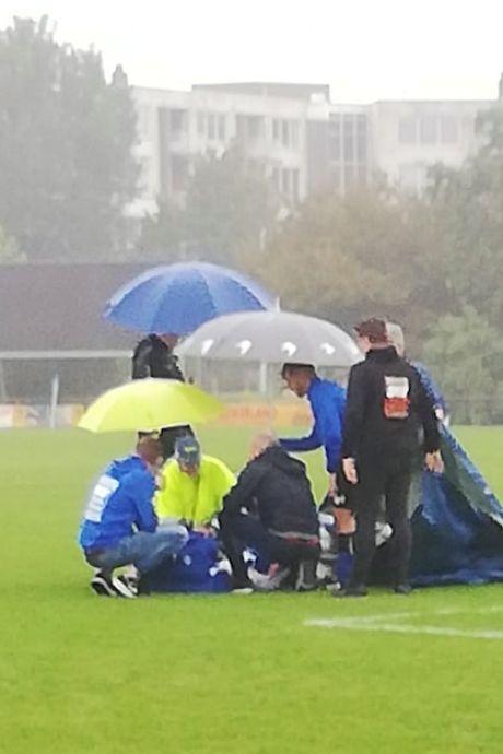 Arnhemse voetballer schreeuwt het uit na dubbele beenbreuk: ESA - DVOV gestaakt