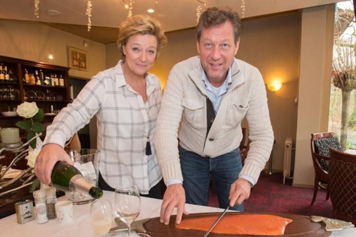 Jacky en Marcel van Raaij kwamen in 1987 in dienst van vakantiepark Herperduin en begonnen vier jaar later hun eigen restaurant.