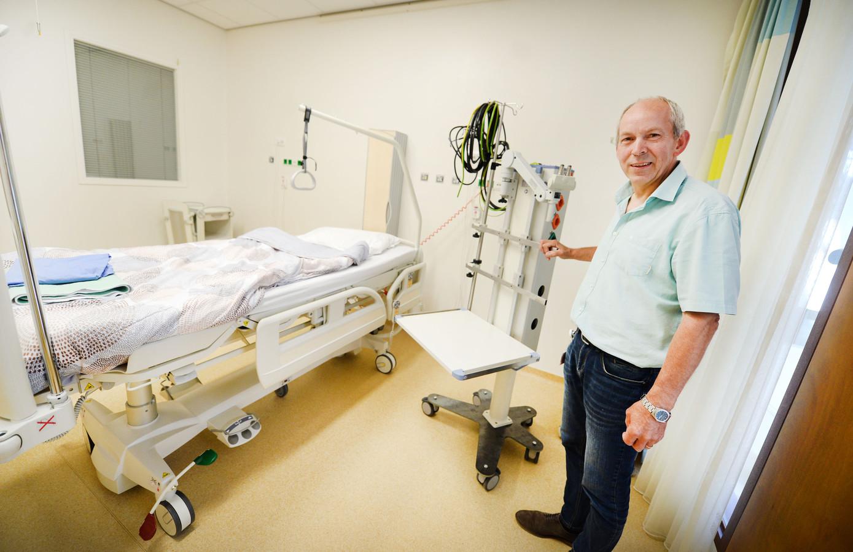 Bedenker Louis Wesselink van MST bij een hybride-intensivecare.