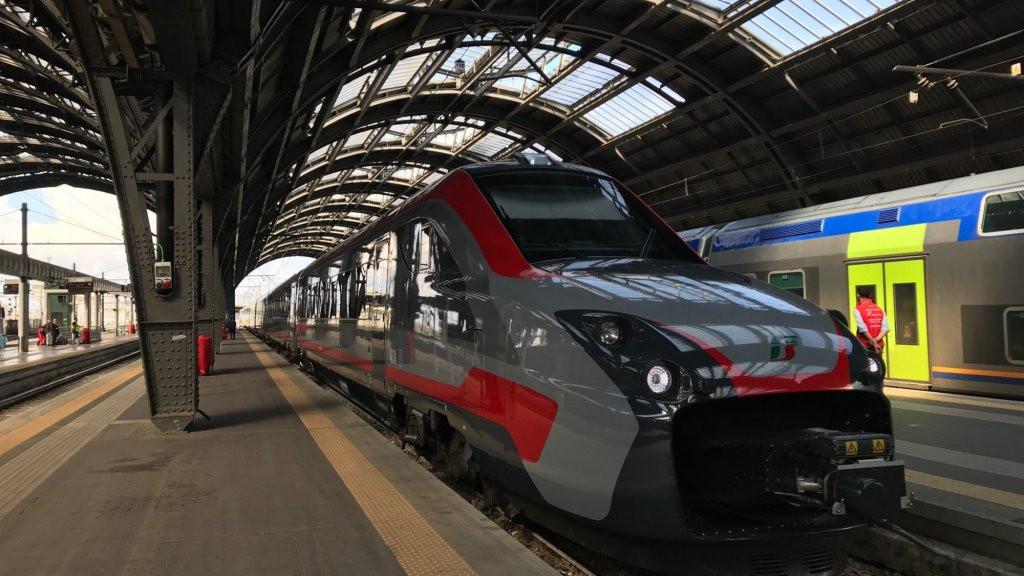De herziene Fyra rijdt nu op het Italiaanse spoor.