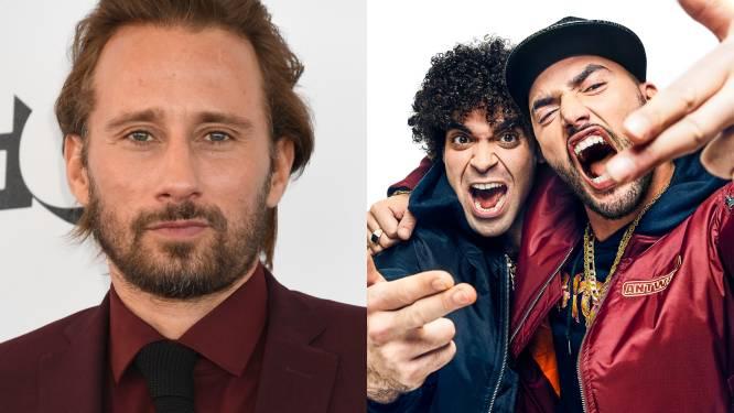 Matthias Schoenaerts en Adil en Bilall gaan strijd aan tijdens 'People's Choice Awards'