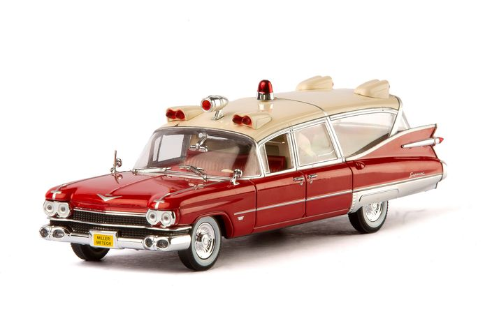 Cadillac Miller-Meteor ambulance (1959) in schaal 1:43