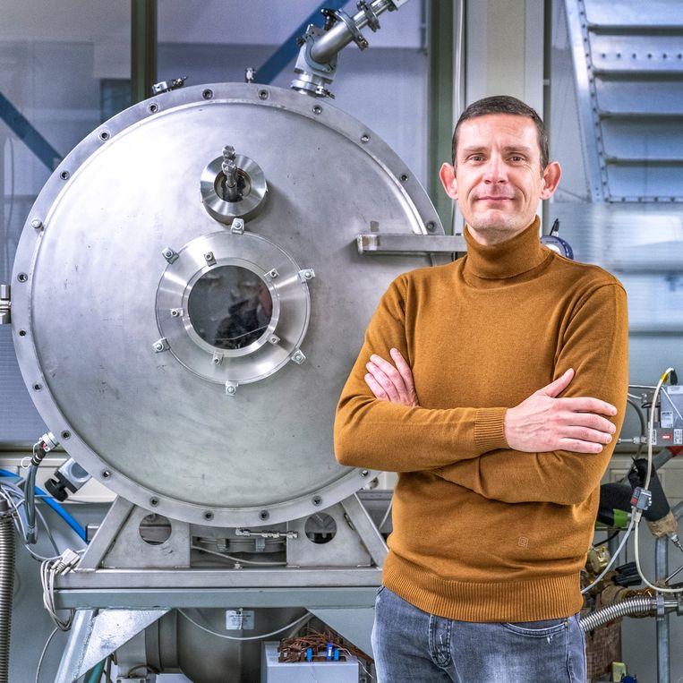 Patrick van Put,  managing director van Bradford Space. Beeld Raymond Rutting / de Volkskrant