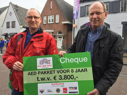De opbrengst van de Run-Bike-Walk in Etten-Leur.