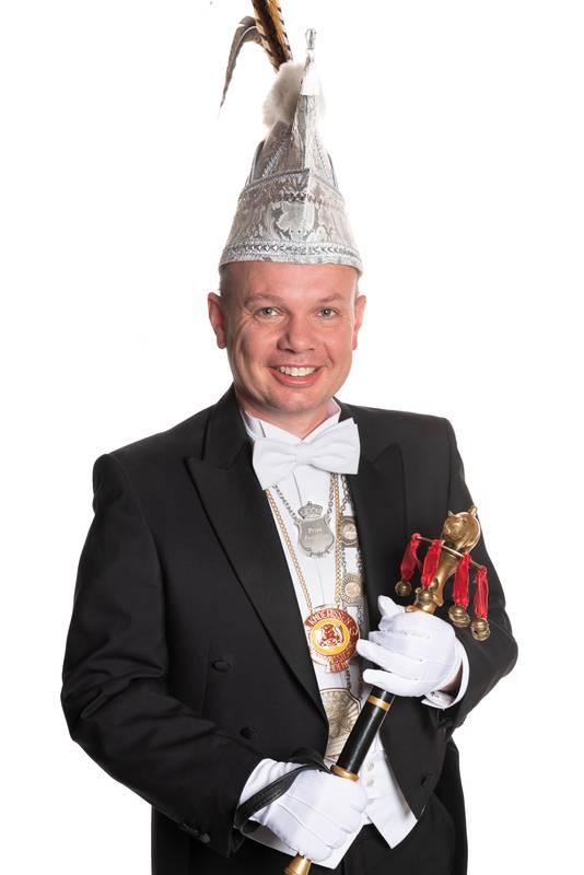 Roland de Laak is Prins Porcellus LV.