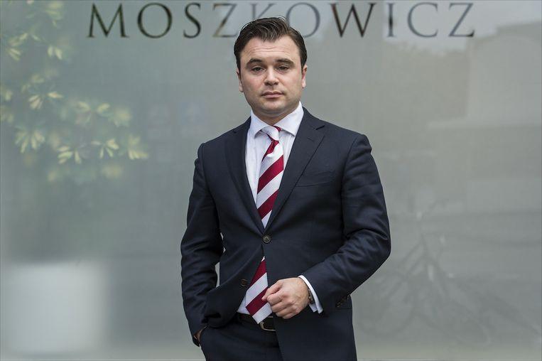 Yehudi Moszkowicz, de jongste advocaat uit het bekende advocatengeslacht. Beeld anp