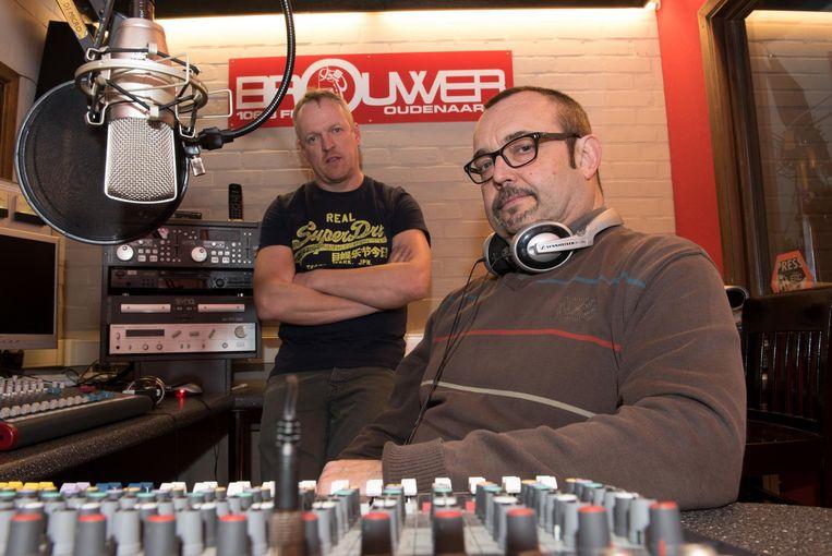 Pedro De Smeijter en Eric De Temmerman van Radio Brouwer.