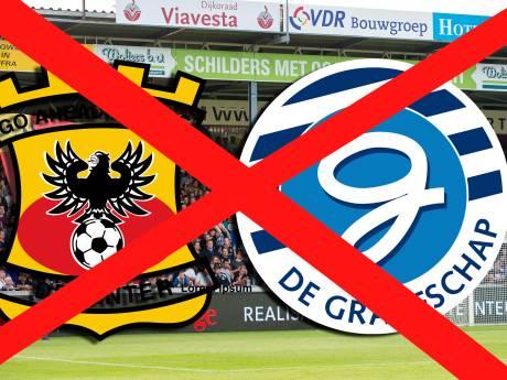 KNVB wil met GA Eagles en gemeente Deventer om tafel na afgelaste wedstrijd tegen De Graafschap