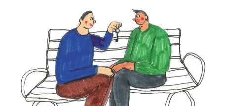 Door corona gingen Robert (40) en João (29) eerst samenwonen, nu pas zijn ze aan het daten