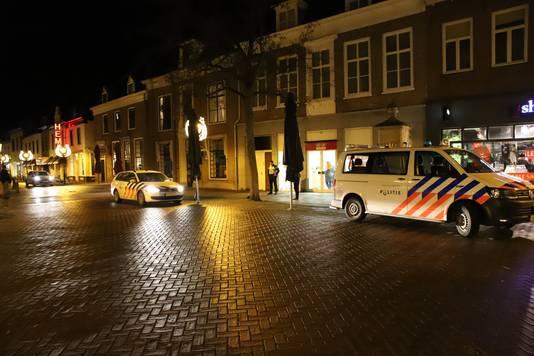 De overval was in de Op=Op voordeelshop aan de Markt in Culemborg.