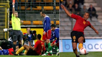 """Van een """"domme"""" rode kaart tot een glansrol tegen Servië: de interlandcarrière van Dembélé in vijf momenten"""