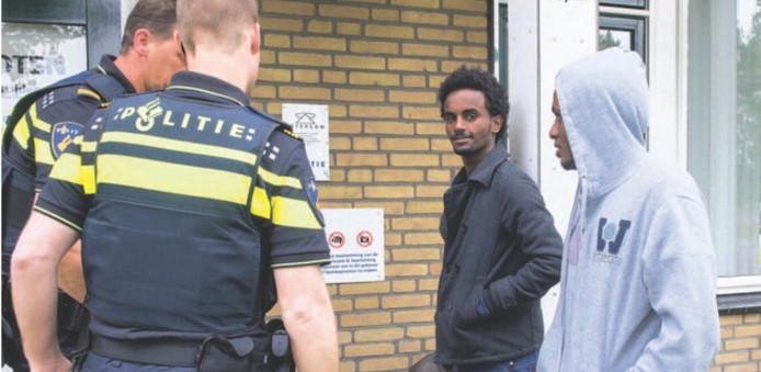 De vluchtelingen in Dalfsen. foto Alex Mulder